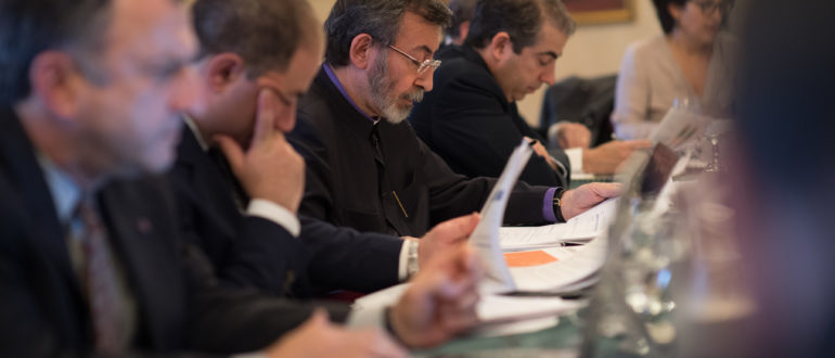 Armenian Church Endowment Fund Meeting