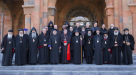 Roman Catholic Dialogue at Holy Etchmiadzin