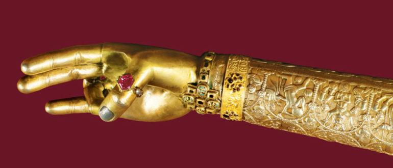 relic of St. Gregory the Illuminator